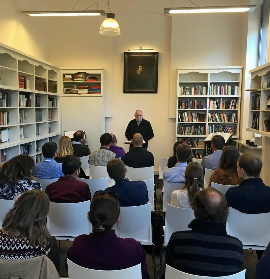 One of the lectures organized by Tolle Lege Institute